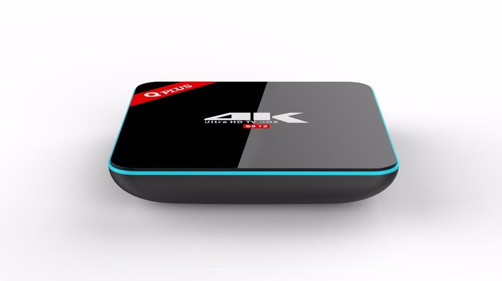 3G/32G Q Plus Amlogic S912 Android 6.0 TV BOX Octa Core Dual WiFi KODI Q-PLUS Smart Set Top Box Media Player better than H96 pro