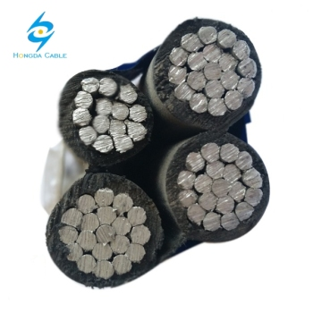 Durable Aerial Bundled Cable Quadruplex Cable Supply 3 - Phase Power ABC Cable