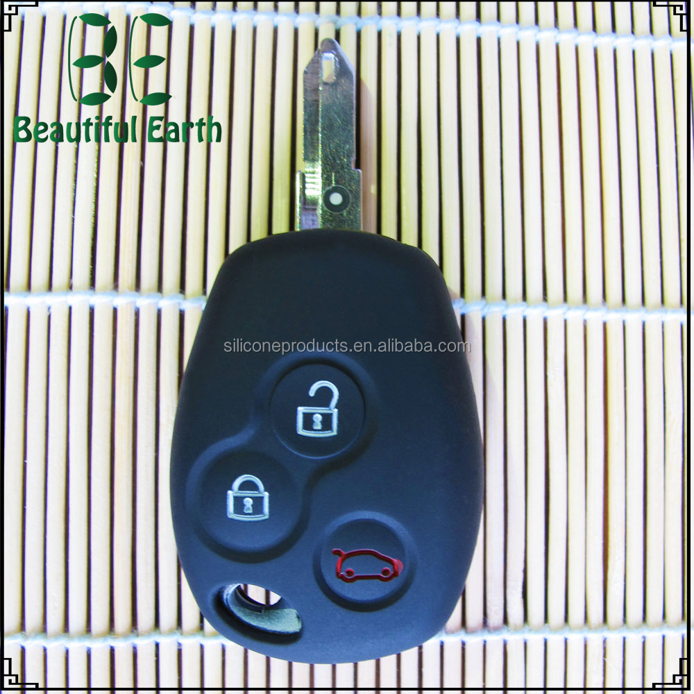 Wholesale Cheap Key Duplicating Machine Silicone Car Key Case for Renault