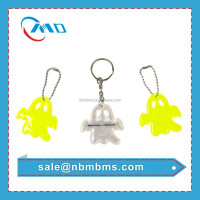 Promotion Top Quality PVC Reflective Key Ring