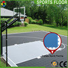 Comfortable modular basketball court sports flooring / outdoor basketball court floor/mobile basketball flooring.
