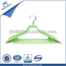 Laundry Item Colorful Metal Cardboard Hanger for Clothes