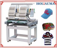 HOLiAUMA New Type 2 Heads 7/8 Inch Computer Controller Embroidery Machine For Sale
