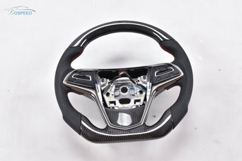Carbon Fiber racing car steering wheel for Cadillac ATS