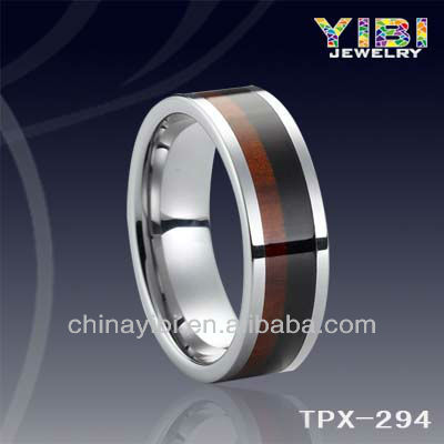 Wood Tungsten Ring ,Alibaba Express, jewelry fashion