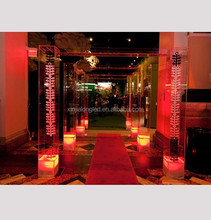 Transparent Acrylic Lucite Plexiglass Wedding Chuppah Clear Wedding Acrylic Lucite Arch Walkway
