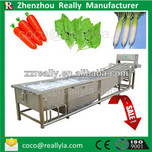 Automatic bubble leafy and carrot vegetable washing machine with ozone system