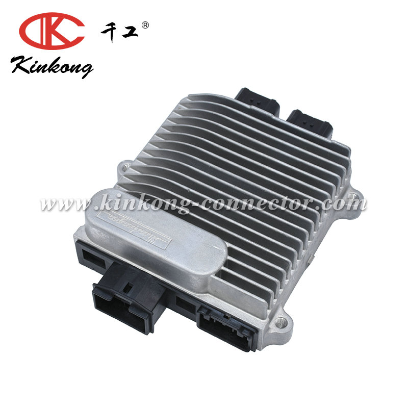2018 Kinkong hot sale 42 pin ECU box with pin header connector for EFI motorcycle