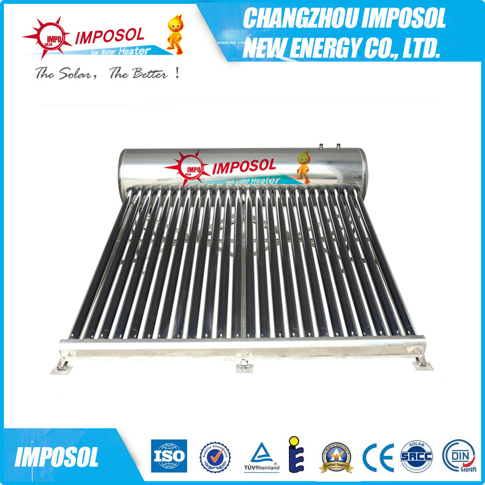 250l portable non-pressured compact solar energy water heater(Yuanmeng)