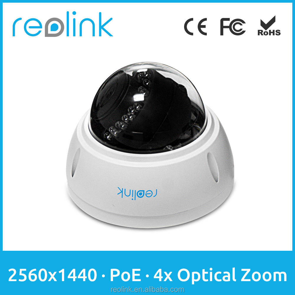 Reolink P2P HD IP Camera 4Megapixel Autofocus 4x Optical Zoom Outdoor Dome Survillance Camrlc-422