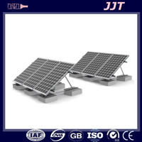 Easy assembly aluminum extrusion solar panel mounting frame