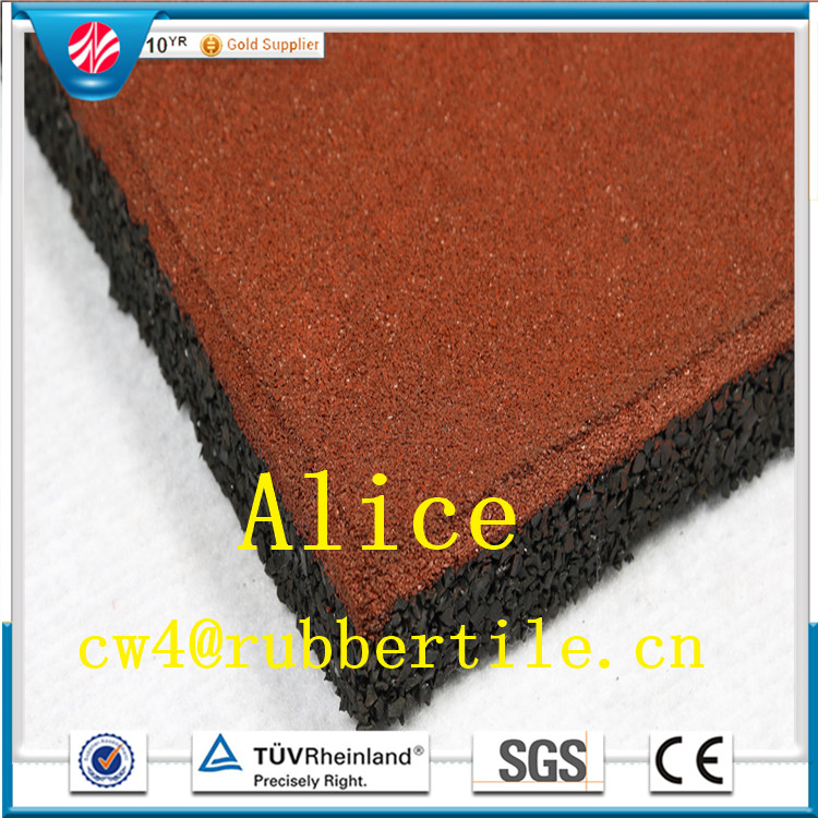 rubber roof tiles/made in china tile/Square rubber tile