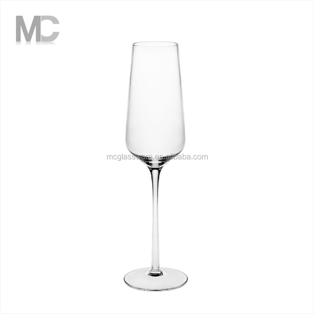 Wholesale Handmade Home Decoration Fancy Crystal Champagne glass flute