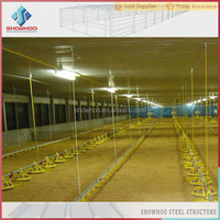 steel structure design chicken egg poultry farm