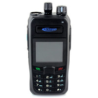 Black DPMR Profession Digital Walkie Talkie Kirisun S760 UHF 400-470 256CH 4W Monitor Digital Model Simulation Two way radio