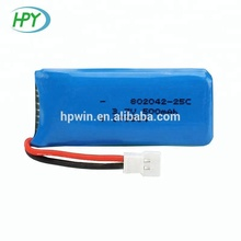3.7V 500mAh 25C 802042 lipo Replacement li-polymer battery for HUBSAN X4 <strong>H107</strong> RC Toy Drone 8*20*42mm