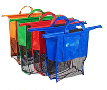 newest pp woven trolley shopping bag with logo