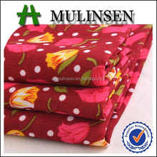 "2015 Best Sellers 44"" Printed Wool Peach Fabric for Summer Dress"