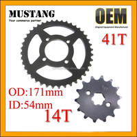 For Honda CD70 Big and Small Sprocket Set