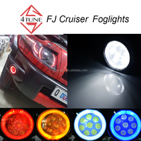 FJ Cruiser fog light Toyota angel eyes car front fog light toyota yaris fog 2013 car light led