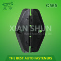 Automotive window clip plastic parts