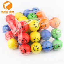 Best Promotion PU Foam Smile Face Squeeze Stress Ball