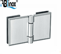 NON-RUST stainless steel square glass clamp 1/2""