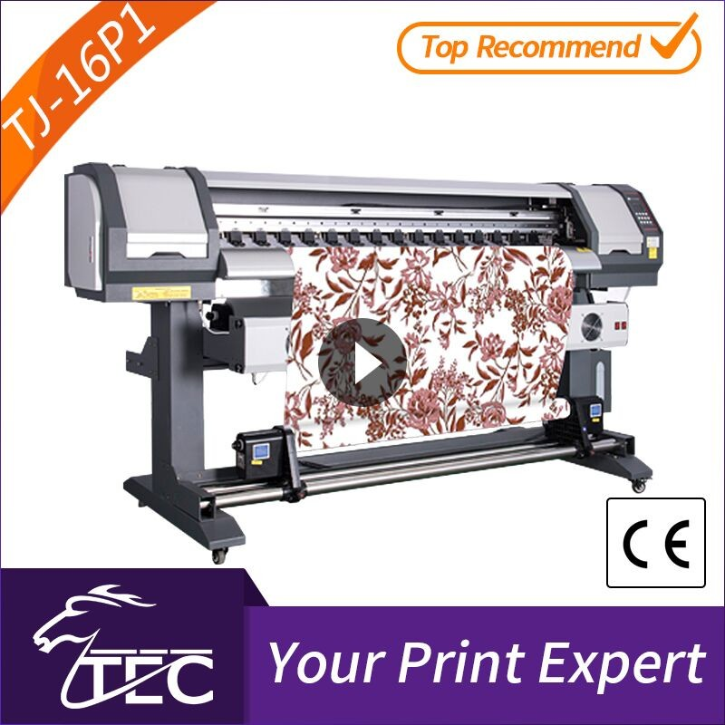 new design 1.6m 1 pc pc3200 head sublimation sports wear cheap digital fabric printing machine