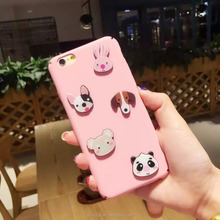 Cute animal shape Full Cover Mobile Phone Cases/Smart Phone Case For iPhone 7/Fashion Cell Phone Case on sale
