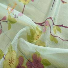 sheer curtains printed fabric of home <strong>w</strong> curtain ready made wholesale