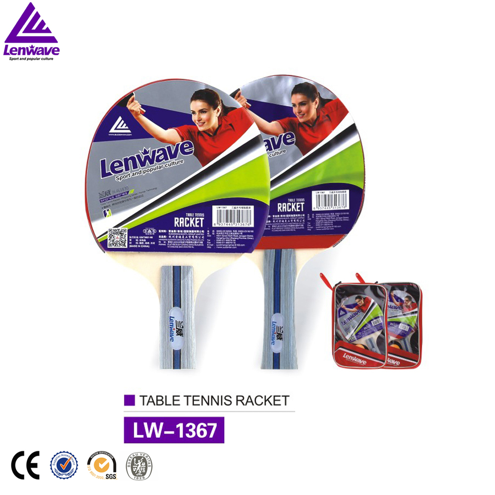 Hot new products for 2017 table tennis racket long pimples suqare bag ping-pong racket bat