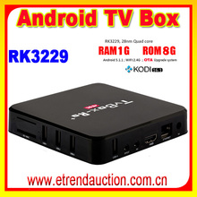 Most popular europe product smart media player support skype with video chat iptvbox europa RK3229 R9 Android 5.1 TV Box