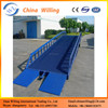 mobile adjustable loading dock ramp motorcycle hydraulic ramps for sale