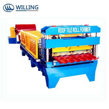 China Roof and Wall Steel Tile Roll Forming Machine