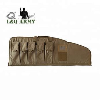 "38""/42"" Heavy Duty Soft Single Tactical Rifle Bag Gun Case for Outdoor"