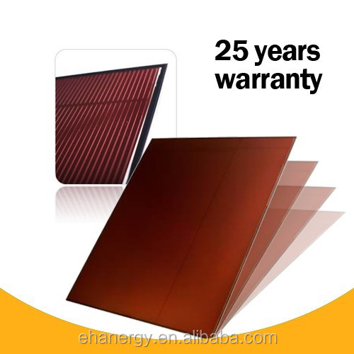 Hanergy Oerlikon 135w cheap price photovoltaic cells amorphous silicon thin film solar panel
