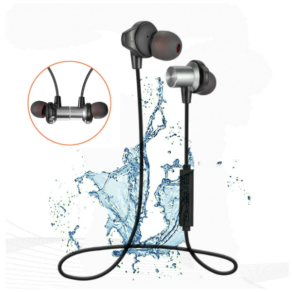 China mini stereo waterproof sport wireless headphones bluetooth headset with Rohs