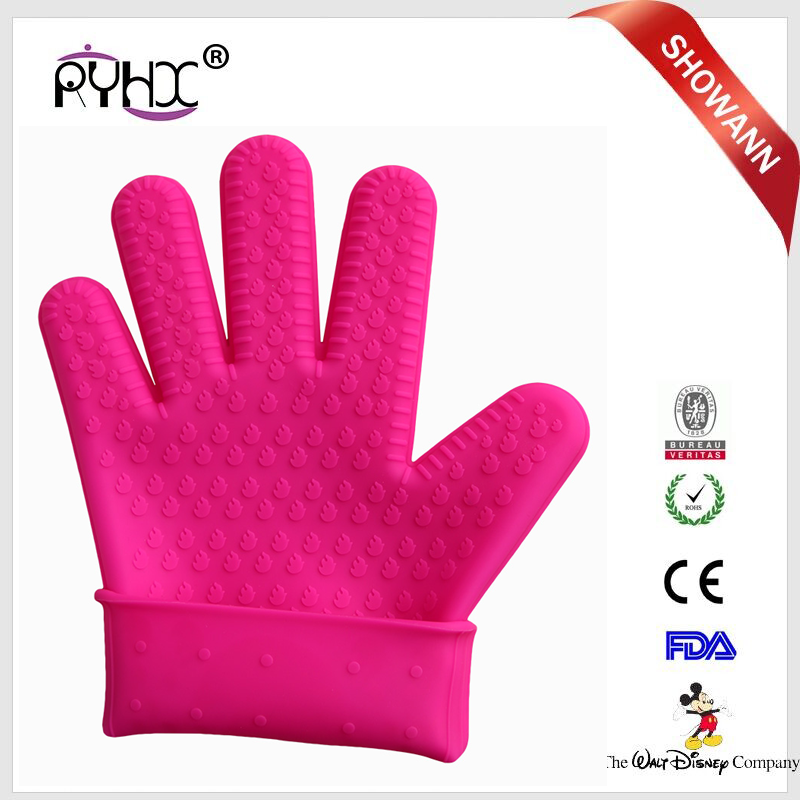 hot sale soft silicone Safety electric protection GLOVES Folding rubber suppliers