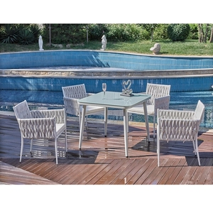 Big Lots American Patio Outdoor Bar Furniture Metal Aluminium Frame Garden China Luxury Dining Rattan Table Chair Sofa Set