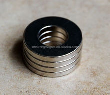 D20mm x 5mm 16mm hole Ring Round Neodymium Permanent Magnets With through Hole