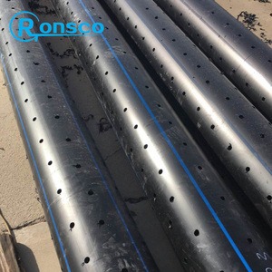 oil well filter perforated slotted wire wrapped screens casing pipe