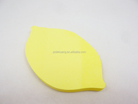 hot wholesale price promotional gift mango shape memo pad sticky notes