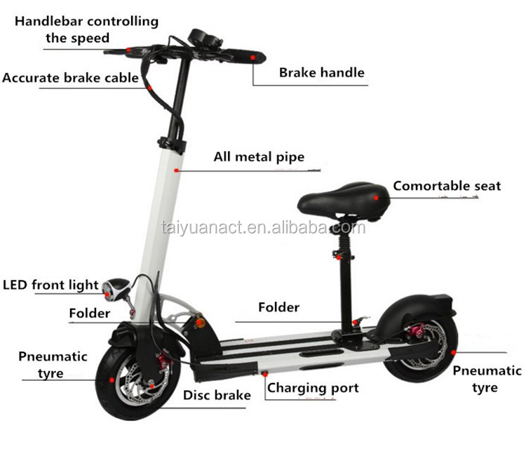 cheap sakura motorized snow electric scooter for adults