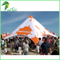 Hot Sale Outdoor Star Shape Tent , Custom Design Sunshine Shelter Star Shape Tent With Logo Printing For Advertising