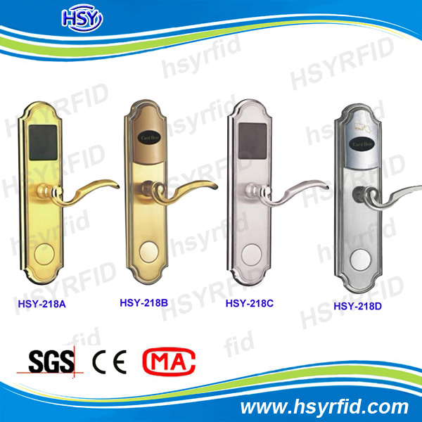 High quality hotel IC card door lock access control for hotel room control system