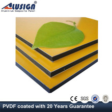 aluminium 3mm advertising pvdf aluminum composite panel