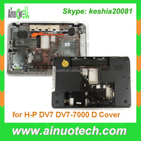 Replacement laptop D shell for HP DV7 DV7-7000 laptop bottom cover A/B/C/D cover hinge