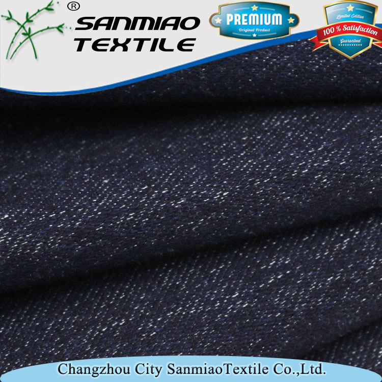 Free Samples raw denim fabric by the yard best quality
