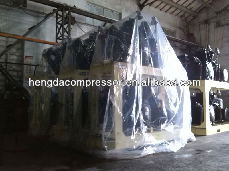 Hengda compressor 770CFM 508PSI 330HP 22m3 35bar 242kw 2014 CHINAPLAS