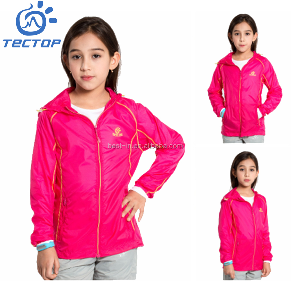 Kid Skin Jacket Sun Protection Clothing for Outdoor Sports